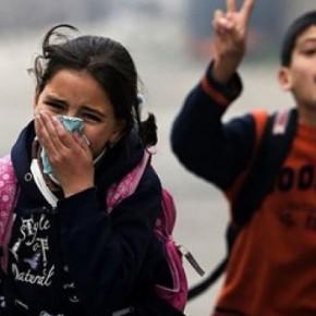 Το μήνυμα των μαθητών του 2ου Γυμνασίου Ηλιούπολης στα παιδιά της Γάζας